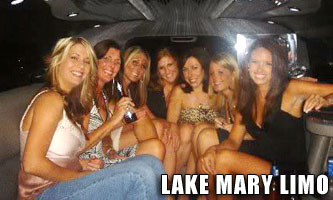 Lake Mary Bachelor Party Limo