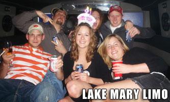 Lake Mary Birthday Limo Service